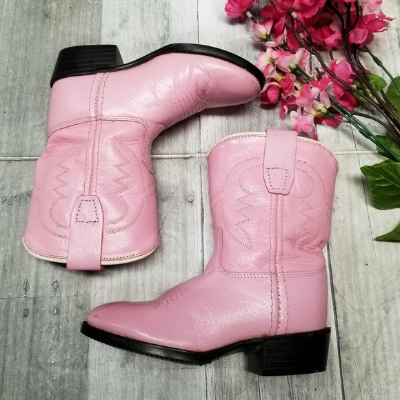 0f335ed3e6a Little Girl Pink Cowgirl Boots